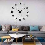Reloj de pared Vangold Mute Diy