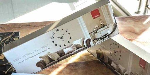 Reloj de pared Vangold DIY