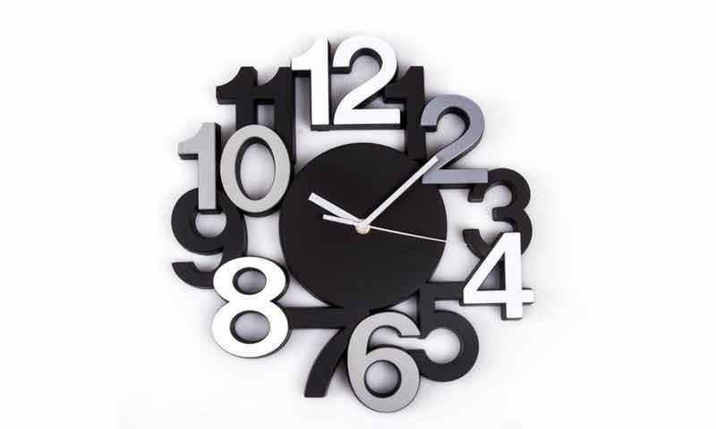 Reloj de pared moderno