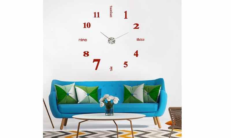 Los mejores relojes de pared modernos para comprar online for Relojes decorativos para salon