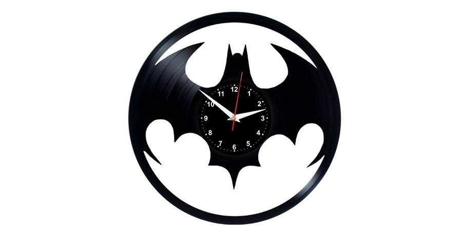 Reloj de pared batman. vinilo