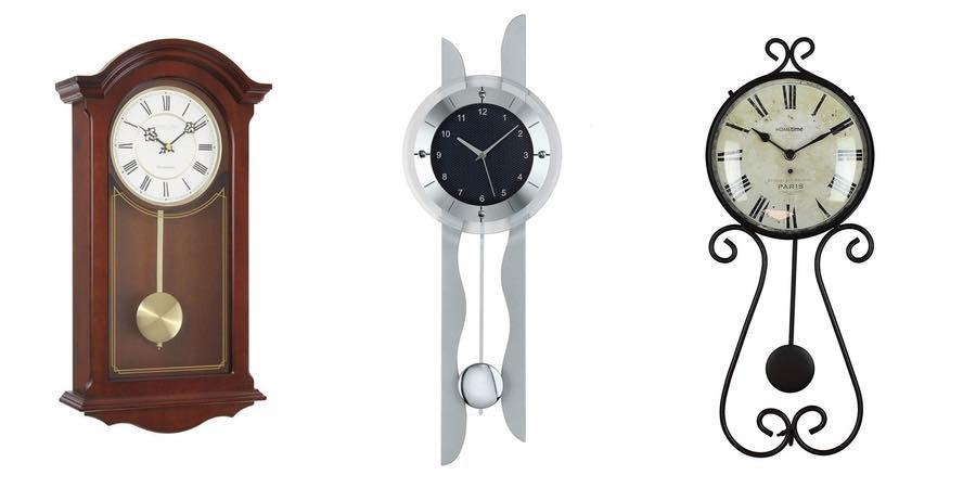 Relojes de pared con p ndulo mejores ofertas para - Relojes para decorar paredes ...