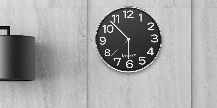 Relojes de pared marca Seiko