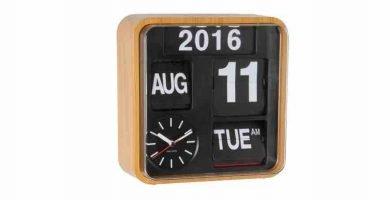 Relojes flip flop. retro flip clock