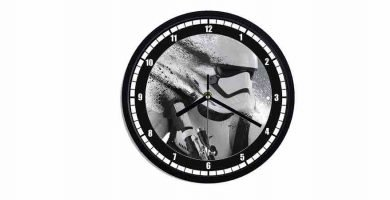 Relojes star wars. Reloj de pared Star wars. Star wars