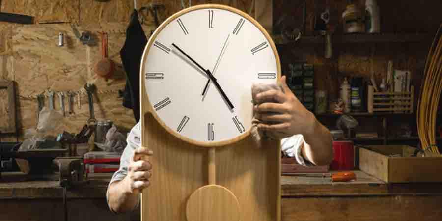 Reloj de pared Mastrociliegia
