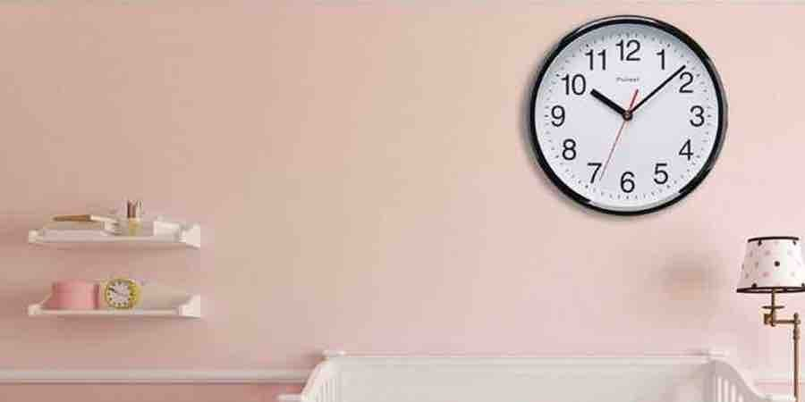 reloj para pared de habitación